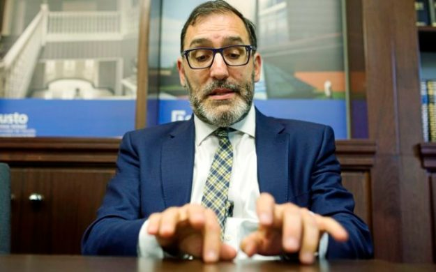 El magistrado de la Audiencia Nacional, Eloy Velasco, el pasado...