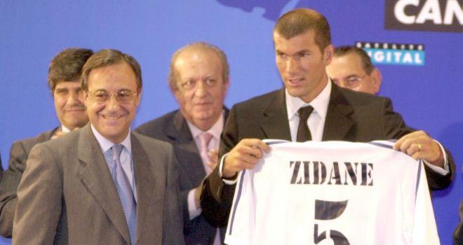 Resultado de imagem para florentino perez champions 2002