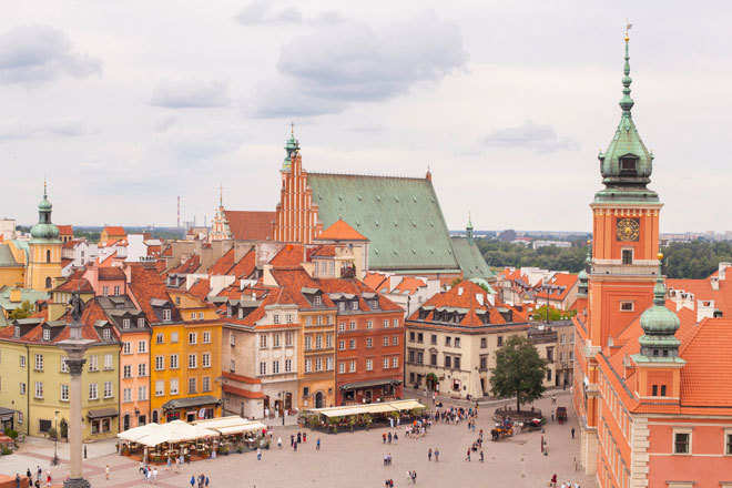 Varsovia, ¿quién dijo que esta ciudad era gris?   Europa