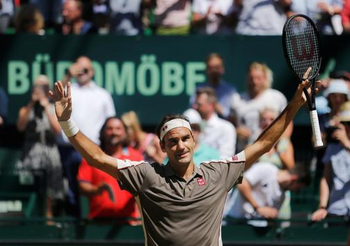 Federer wins in Halle for the tenth time and approaches Connors