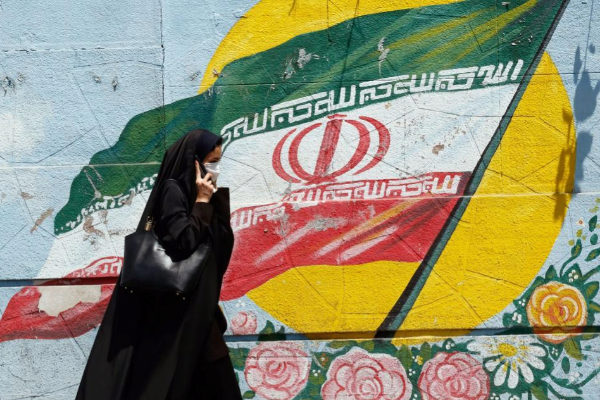 ABD02. Tehran (Iran (islamic Republic Of)).- An Iranian woman walks...