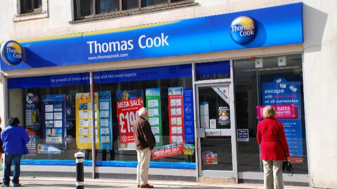 Image result for Thomas Cook crisis