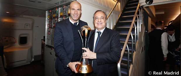 Florentino and Zidane