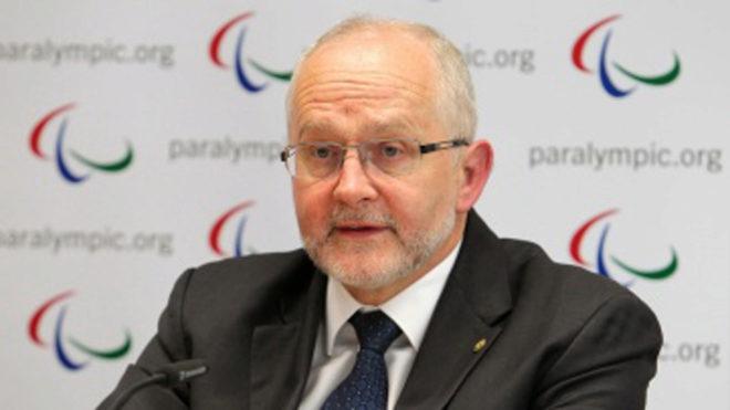 Philip Craven durante una rueda de prensa.