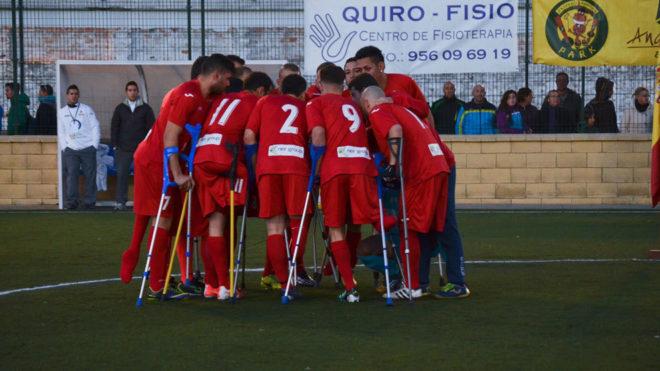 Resultado de imagen de España participa por primera vez en el Europeo de fútbol para amputados