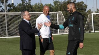 Image result for Zidane and Benzema