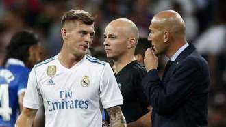 Image result for Zidane and Kroos