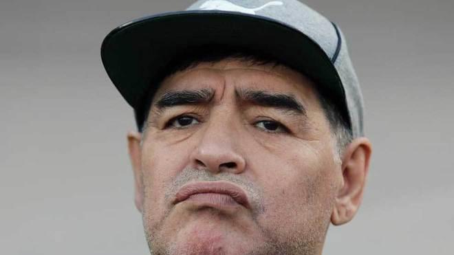 El exabrupto de Maradona con un famoso cocinero