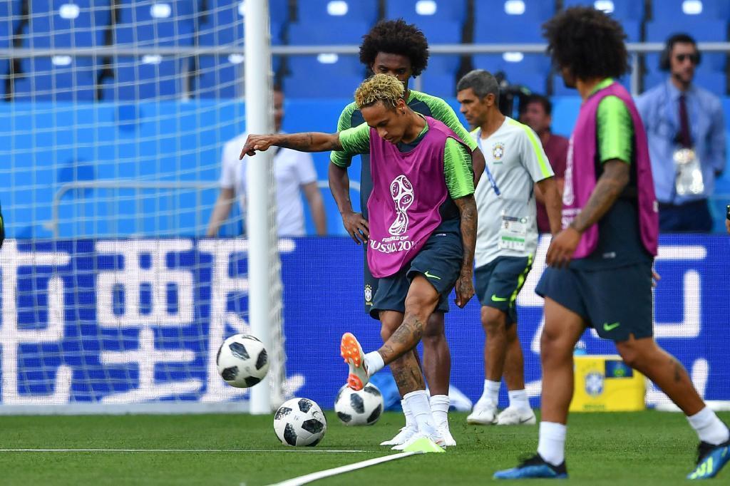 SAWIRRO Neymar Oo Caawa Kulankiisa Ugu Horreeyay Koobka