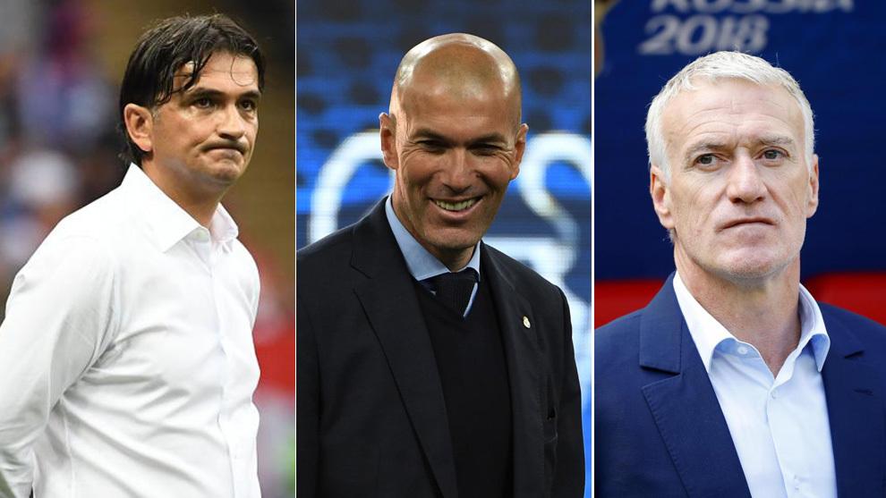 Resultado de imagen para entrenadores 2018 the best
