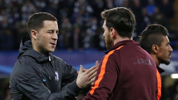 Pour Eden Hazard, Lionel Messi est le meilleur joueur de tous les temps