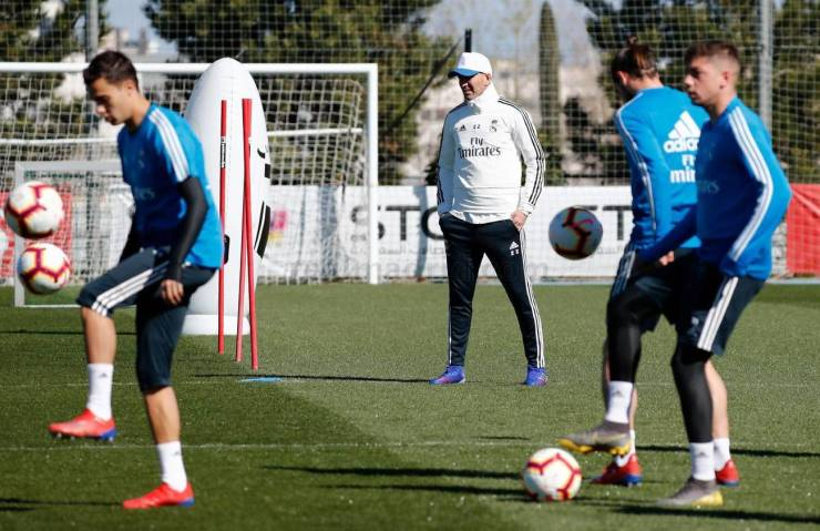 PHOTOS: CHECK OUT ZIDANE'S FIRST TRAINING SESSION BACK AT REAL MADRID AHEAD OF CELTA VIGO'S CLASH 15524800226972 1300x0