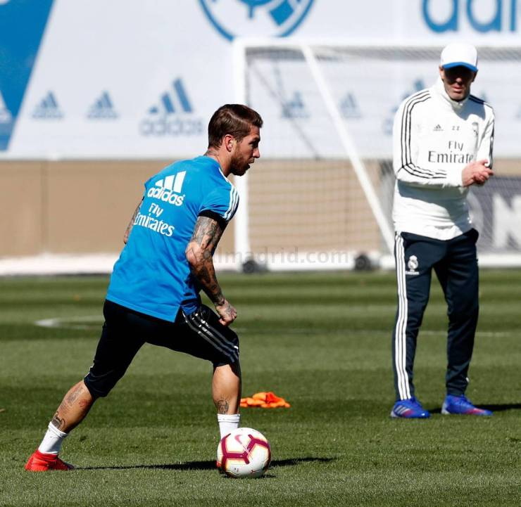 PHOTOS: CHECK OUT ZIDANE'S FIRST TRAINING SESSION BACK AT REAL MADRID AHEAD OF CELTA VIGO'S CLASH 15524800230119 1300x0