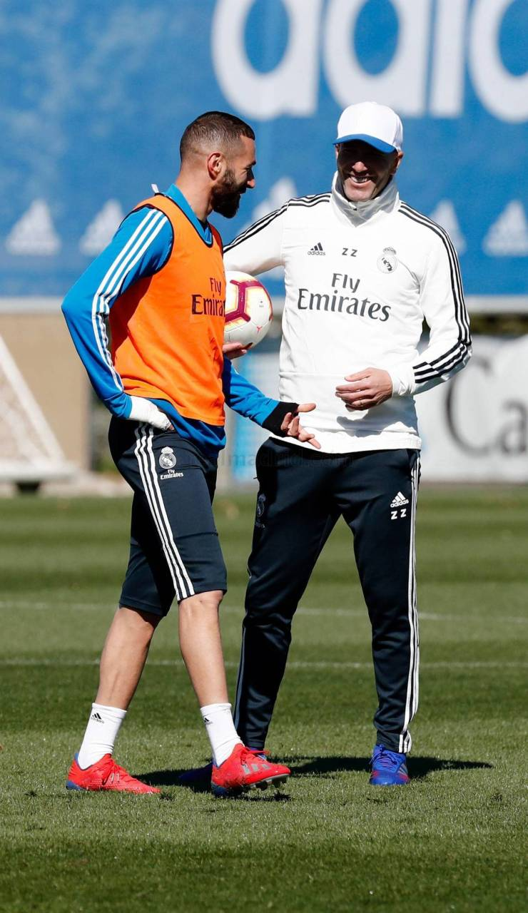 PHOTOS: CHECK OUT ZIDANE'S FIRST TRAINING SESSION BACK AT REAL MADRID AHEAD OF CELTA VIGO'S CLASH 15524800231908 1300x0