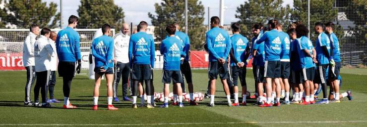 PHOTOS: CHECK OUT ZIDANE'S FIRST TRAINING SESSION BACK AT REAL MADRID AHEAD OF CELTA VIGO'S CLASH 15524800245222 1300x0