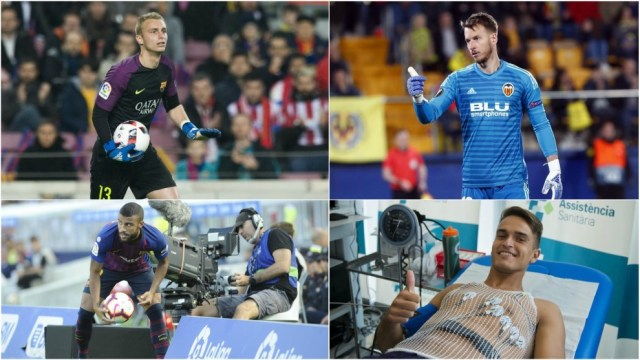 Cillesen and Neto are set to swap clubs, Valencia eye Rafinha and...