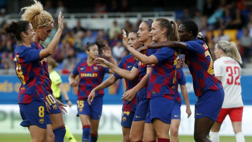 Resultado de imagen de barcelona femenino