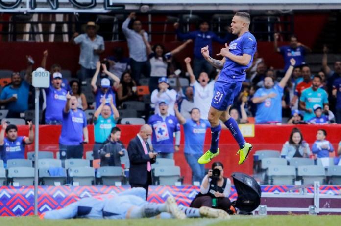 9.- Jonathan Rodríguez | Cruz Azul | 6 goles