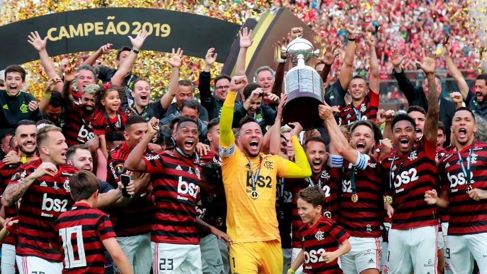 Resultado de imagen para flamengo campeon libertadores 2019