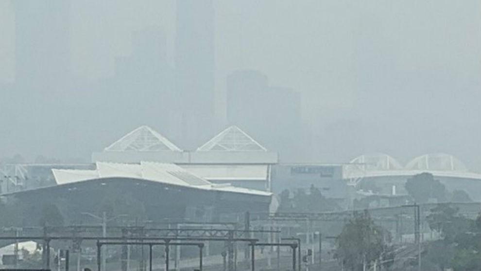 Resultado de imagen para melbourne con humo