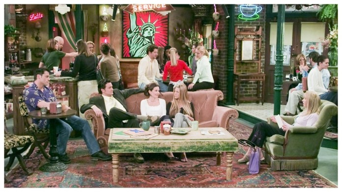 Scene of the series 'Friends'.