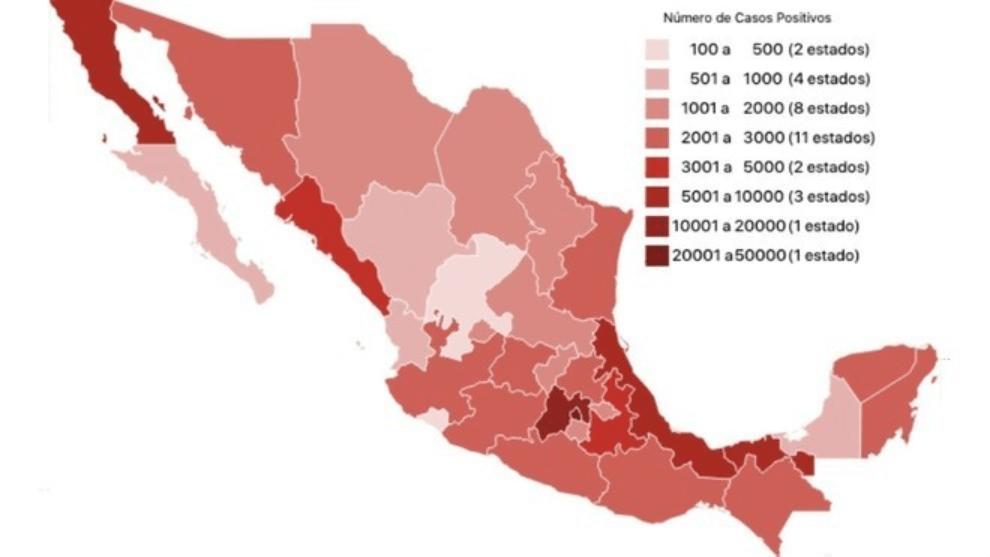Cifras de Covid-19 en México