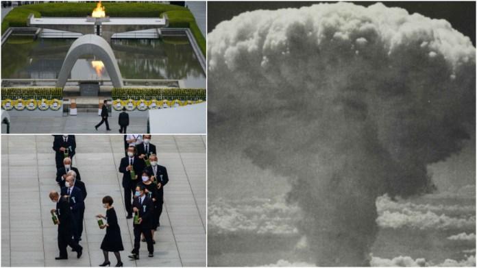 Hiroshima conmemora el 75 aniversario del peor ataque nuclear de la...