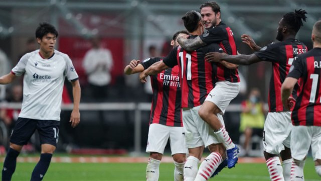 Milan vs Bolonia Zlatan Ibrahimovic da la victoria al Milan - Serie A: