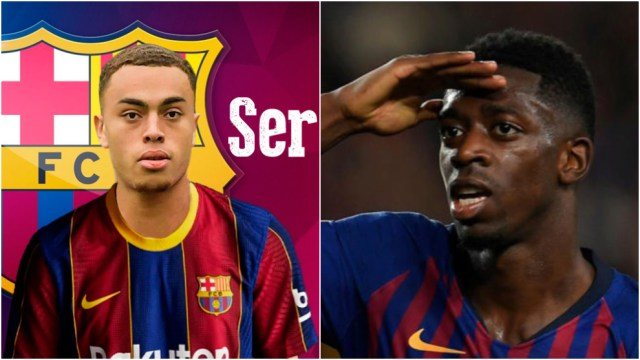 Thursday's transfer summary: Sergino Dest joins Barcelona, Dembele ready to leave ...