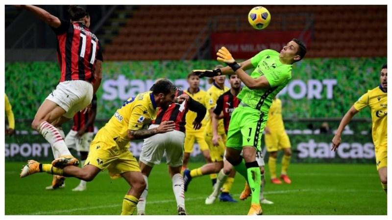 Milan-Hellas Verona: El Ibrahimovic más desafortunado rescata un empate  para el Milan en el 92' - Serie A