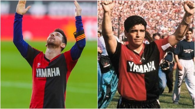 Barcelona vs Osasuna | LaLiga: Messi scores wonder goal and reveals Newell's  Old Boys shirt in Maradona's honour | MARCA in English
