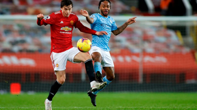 Manchester United - Manchester City: Reparto de puntos entre United y City  en un gris derbi de Mánchester - Premier League