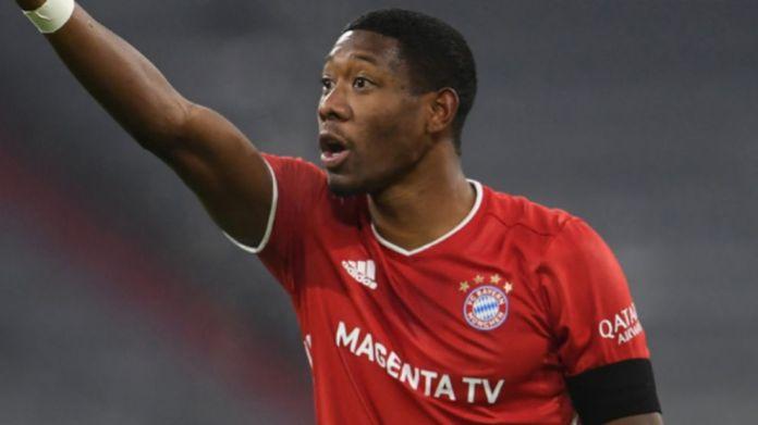 Alaba duke luajtur për Bayern Munchen