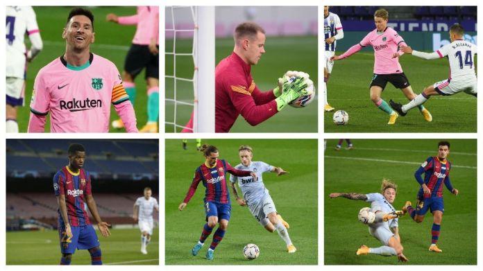 Gjashtë lojtarë të Barcelonës bëjnë listën e 100 më të mirëve të Guardian për vitin 2020