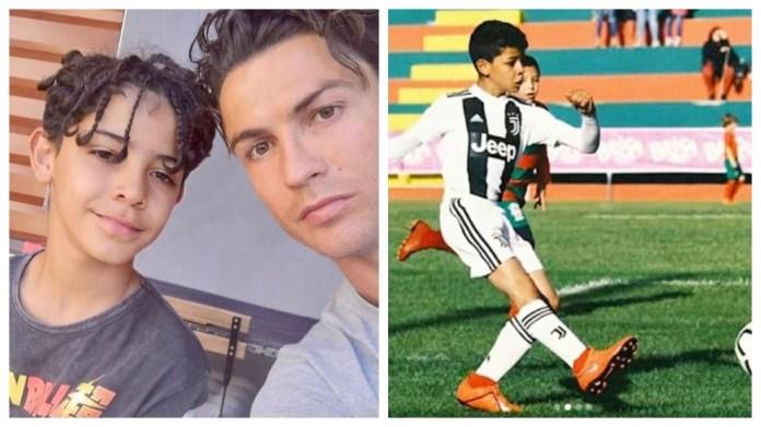 Cristiano Ronaldo për djalin e tij: Ne do të shohim nëse ai bëhet një futbollist, ai pi Coca-Cola dhe Fanta ...