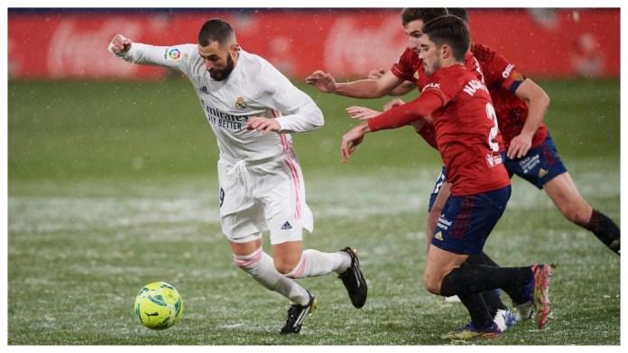 Benzema kundër Osasuna.