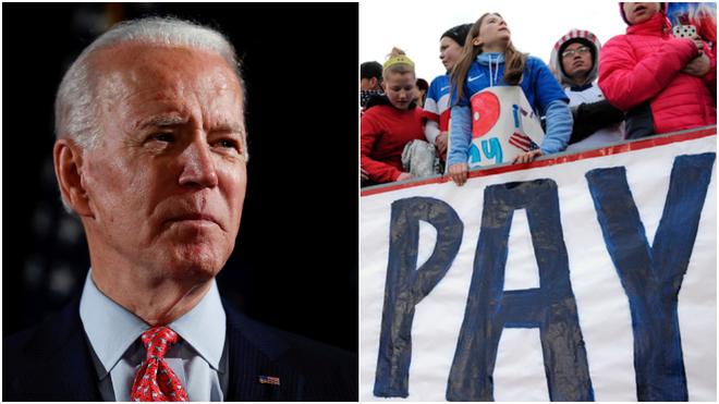 Joe Biden mund të kërkojë pagë të barabartë për ekipin kombëtar të grave të Shteteve të Bashkuara