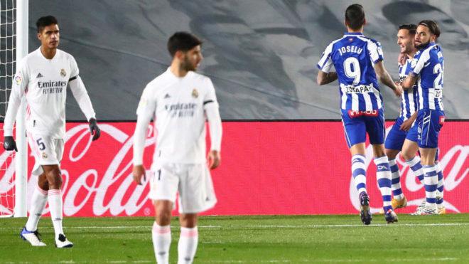 Alave & apos;  fitorja e mëparshme ndaj Real Madrid