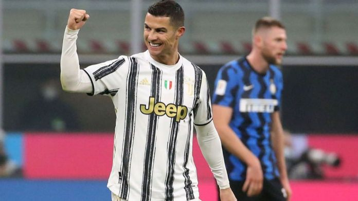 Cristiano Ronaldo pasi shënoi një gol