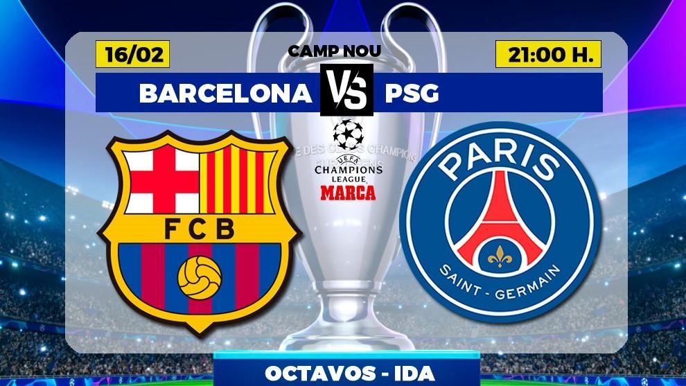 barcelona vs psg barcelona vs psg