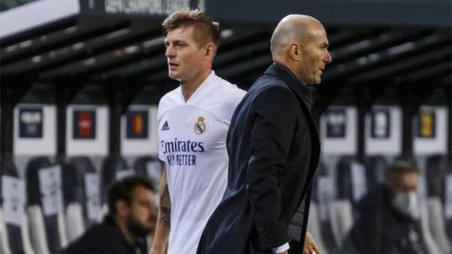 Kroos dhe Zidane