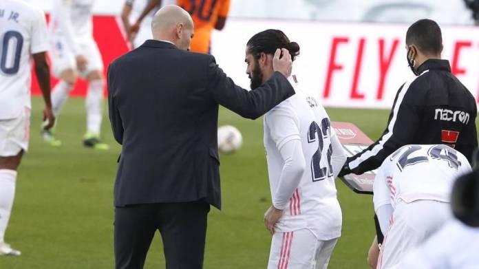 Zidane mendon Isco si një nëntë të rremë kundër Atalanta