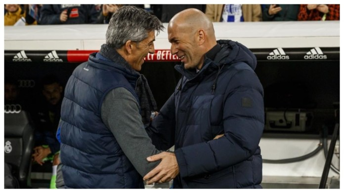 Zidane dhe Imanol