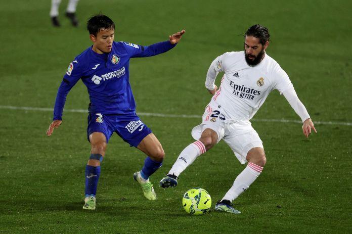 Shqetësimet e Real Madrid rriten ndërsa Kubo është stol përsëri nga Getafe