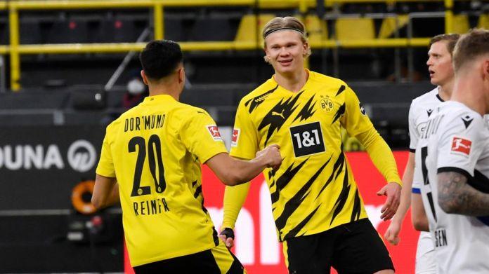 Reinier feston me shokun e tij të skuadrës Erling Haaland