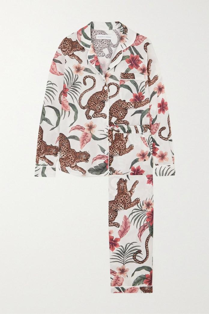 Pajamas of algod