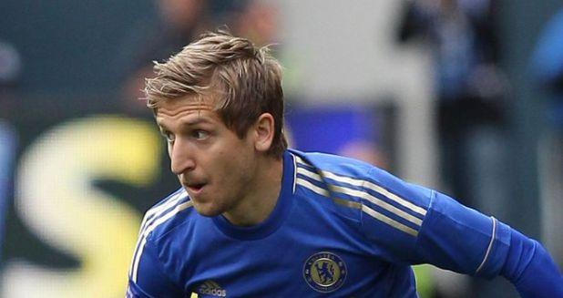 Red Star Belgrade's Marko Marin had a short spell with Chelsea