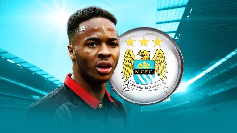 Raheem Sterling has joined Manchester City from Liverpool