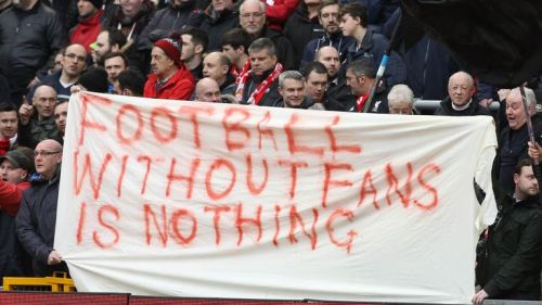 Football supporters have staged a number of protests against ticket pricing in recent months