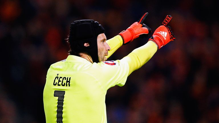 Petr Cech has won well over 100 caps for the Czech Republic